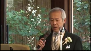 花嫁の父が歌う「糸」