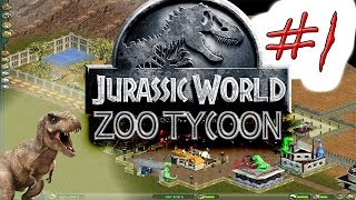 JURASSIC WORLD /Gameplay Zoo tycoon 1 (Serie capitulo 1)