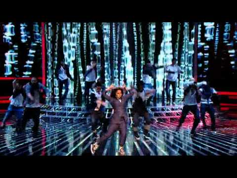 Janet Jackson - All For You/Make Me ( Live X Factor UK 2009 )
