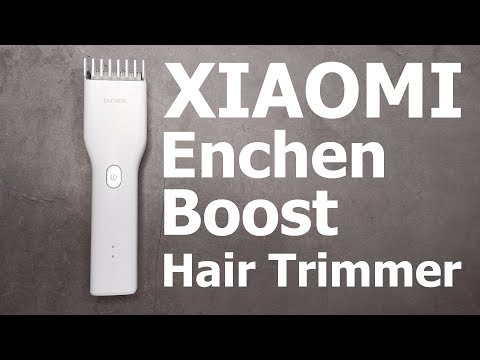 9 $ За Отличную Машинку для стрижки II Xiaomi Enchen Boost Hair Trimmer
