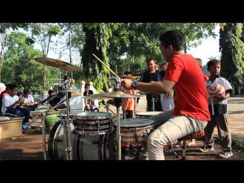 Cover drum nakal - Gigi