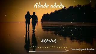 Adada adada 😘 bgm video song WhatsApp status 💞 from Santhosh Subramaniam movie 🔥