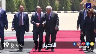 جلالة الملك يحذر من تداعيات نقل السفارة الأمريكية إلى القدس - (30-11-2017)