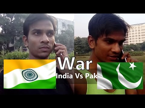 India Vs Pakistan | Phone Fight Between Indian & Pakistani | Funny Video