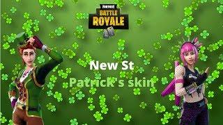 Neue St Patricks Skins! (Fortnite Battle Royale)