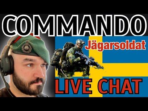 Swedish Ranger Soldiers    Jägarsoldat    UK COMMANDO LIVE CHAT