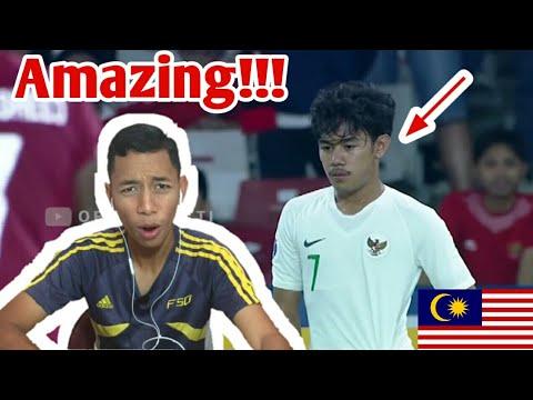 Malaysia Reaction Indonesia Vs Qatar