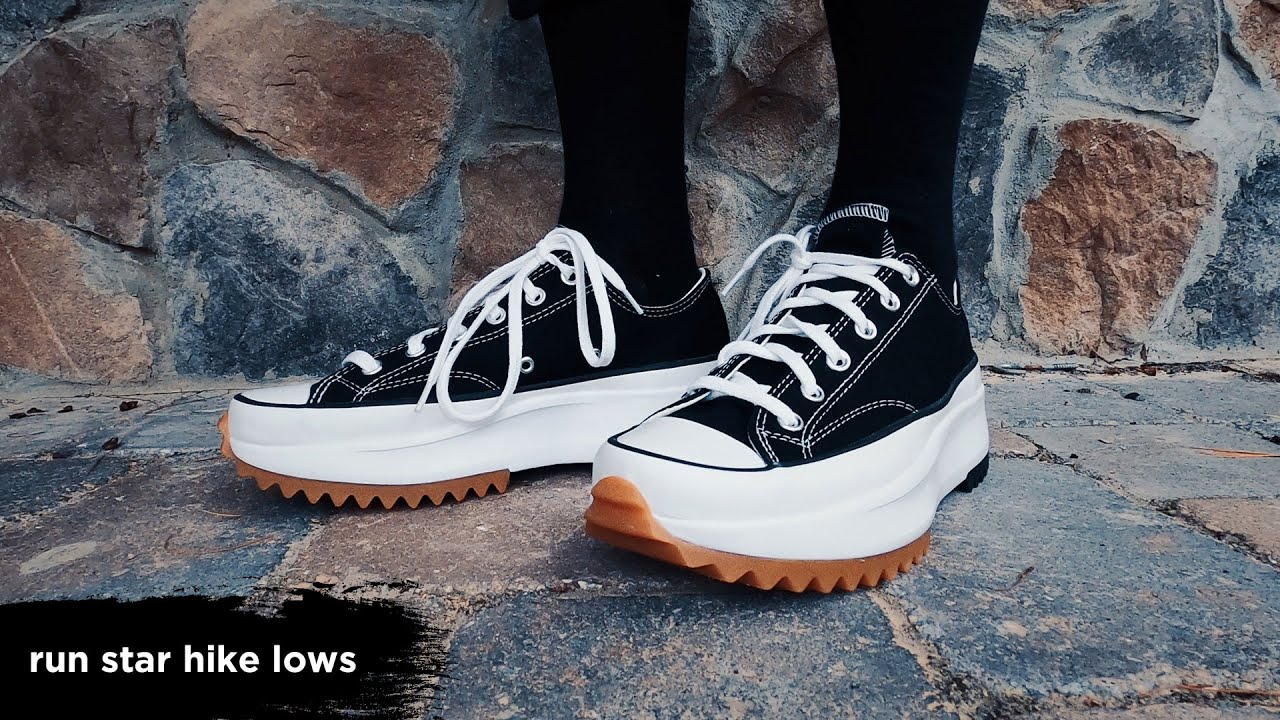 run star hike lows: the converse we