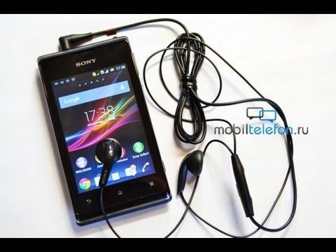 Обзор Sony Xperia E Dual на Android 4.1 Jelly Bean (review): компактный Dual SIM
