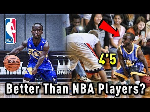 "The 4'5"" BASKETBALL Player That Thinks He's BETTER Than NBA Players!"