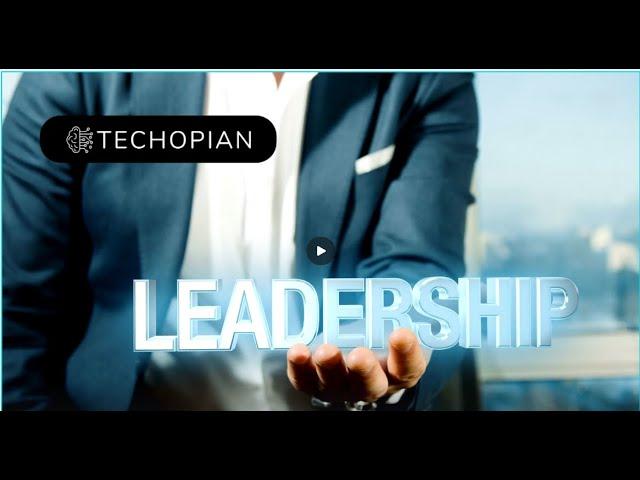 Techopian Leadership - Adrian Jones