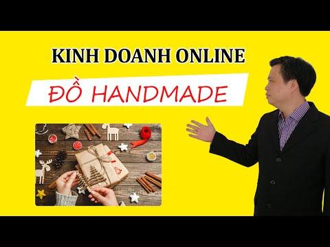 Ý TƯỞNG KINH DOANH ONLINE ✍️ Kinh doanh đồ Handmade