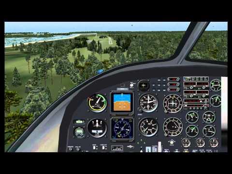 Plum Island Navion landing