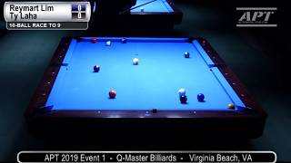 2019 Event 1: Reymart Lim vs Ty Laha (Finals)