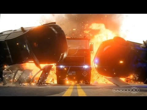 How Does Battlefield: Hardline's Hotwire Mode Play? - EB Expo 2014