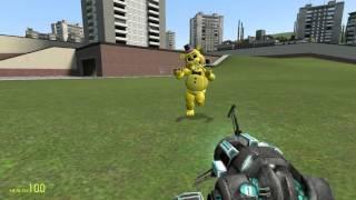 Обзоры аддонов Garrys mod 2 Мишка Фредди 2,Пушки Сэма
