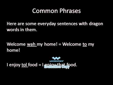 Learn the Dragon Language of Skyrim   Alphabet & Pronunciation