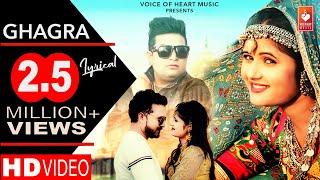 Ghagra(Lyrical) - Latest Haryanvi Dj Songs Haryanavi | Raju Punjabi| Anjali Raghav ,Sanju Khewriya