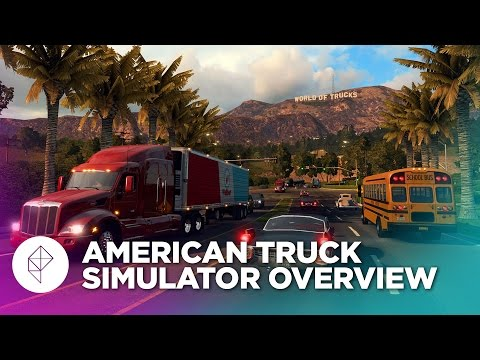 We played American Truck Simulator in arguably the dumbest way possible