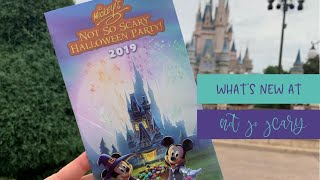 What is NEW at Mickey's Not So Scary Halloween Party 2019?!