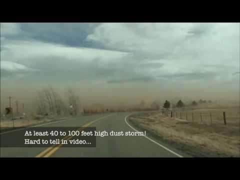 Crazy 90 Plus MPH Wind Storm In Minden & Gardnerville, Nevada