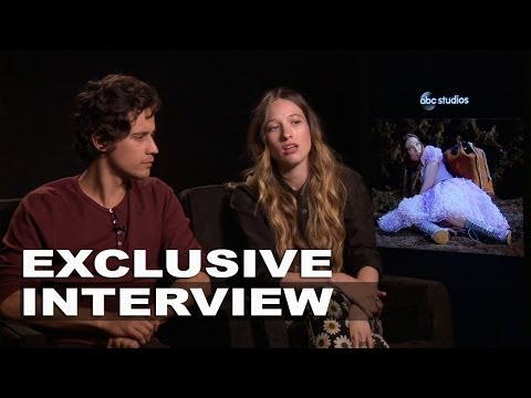 Once Upon a TIme in Wonderland: Sophie Lowe & Peter Gadiot Exclusive Interview