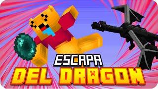 VICTORIA!! ESCAPA DEL DRAGÓN! D:!!   Minecraft