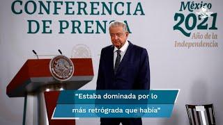 """El presidente López Obrador dijo que la UNAM no solo se """"derechizó"""" en el periodo neoliberal, sino que facultades de ciencias sociales estaban dominadas por lo más retrograda que había """"y sigue existiendo"""""""