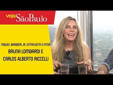 Miguel Barbieri Jr. Conversa Com Bruna Lombardi E Carlos Alberto Riccelli