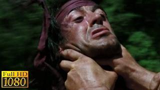 Rambo First Blood 2 (1985) - Rambo Vs Yushin | Helicopter Fight | Scene (1080p) FULL HD