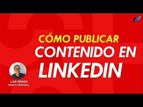 Como publicar contenido en LinkedIn (LinkedIn Pulse, imágenes y artículos)