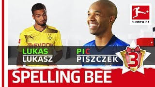 Sokratis, Piszczek, Kuba & Co. - Spelling Bee - Bundesliga 2017 Advent Calendar 3