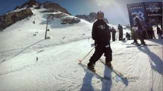 GoPro HD: Tom Wallisch Slopestyle TV Course Preview – Winter X Games Europe 2012