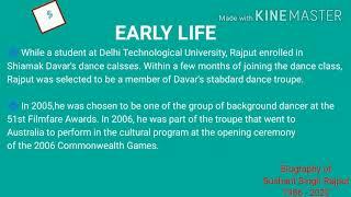Biography of Sushant Singh Rajput