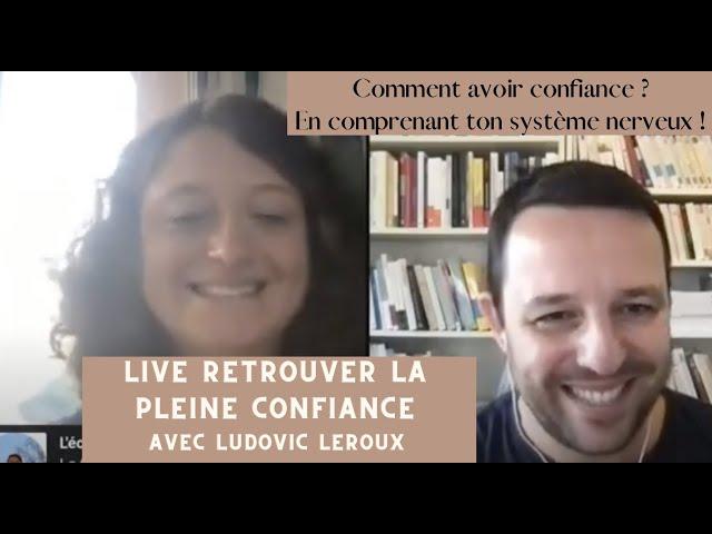 ATTENTION : Échange passionant ! Live pleine confiance avec Ludovic Leroux 🤩🌟