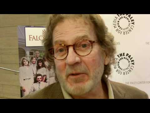 Robert Foxworth at the FALCON CREST reunion at Paley Center