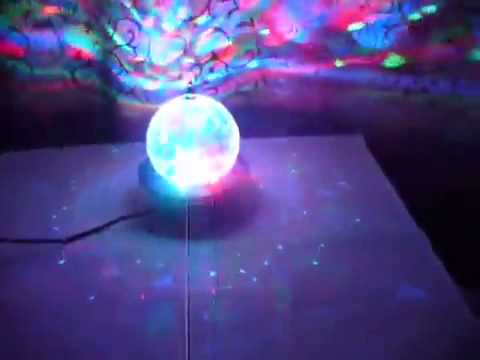 LED Effect DJ Disco Ball με USB/SD Mp3 Player & τηλεχειρισμό