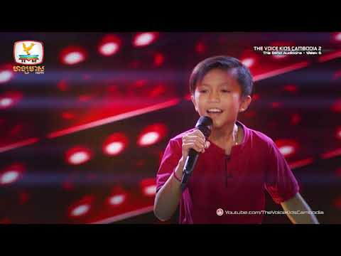 RESULT (Blind Audition Week 6 | The Voice Kids Cambodia Season 2)