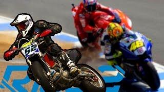 MOTARD A LAGUNA SECA + Mv Brutale vs Yamaha MT09 vs Triumph