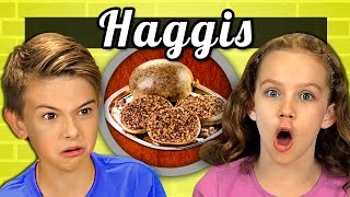 KIDS vs. FOOD #20 - HAGGIS