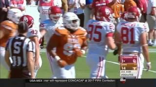 Texas vs Oklahoma  2015 Big 12 Football Highlights