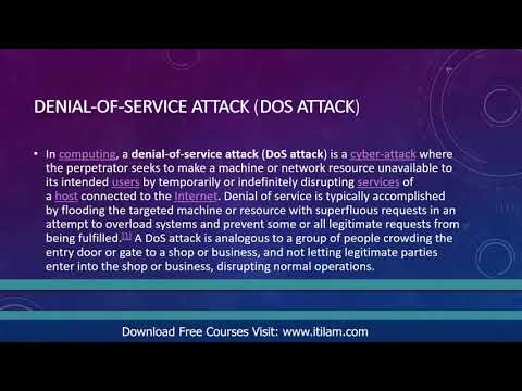 DoS Denial of Service Attack part 11