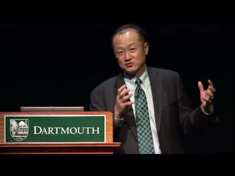 Dartmouth Presidential Lectures: President Jim Yong Kim