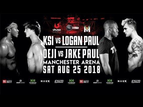 KSI VS. LOGAN PAUL [OFFICIAL LIVE STREAM]