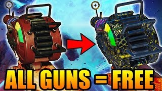 "THE ""BEST"" SIDE EASTER EGG IN CALL OF DUTY ZOMBIES HISTORY! - Every Gun Upgraded for Free!"