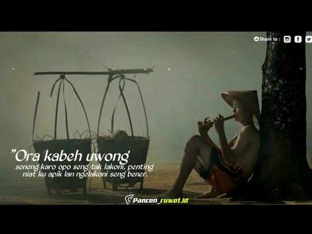 Story Wa Kata Kata Bijak Bahasa Jawa Status Wa Motivasi Hidup Terbaru 2020 Youtube