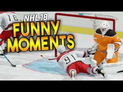 NHL 18 CRAZY & FUNNY MOMENTS