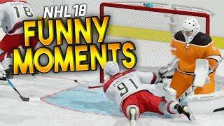 NHL 18 CRAZY & FUNNY MOMENTS