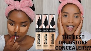 THE BEST DRUGSTORE CONCEALER? L'OREAL INFALLIBLE CONCEALER REVIEW