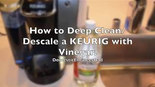 Download How to Clean & Descale a Keurig with Vinegar. Mp3 and Videos